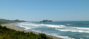 RVing southern Oregon Coast Highway 101