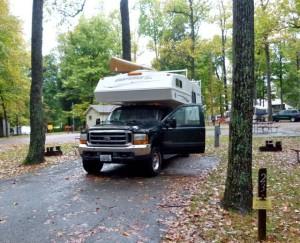 Spring RV camping along Kentucky Bourbon Trail