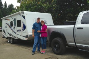 RVs for Autumn, part 2: For back country dry camping, Ron & Sharon Vail go for small travel trailer