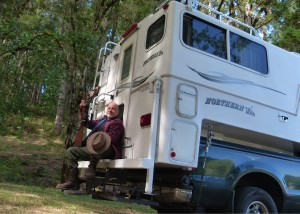 RVs for Autumn, part 1: Cooler weather beckons angler, hunter Jimmy Smith in his truck camper