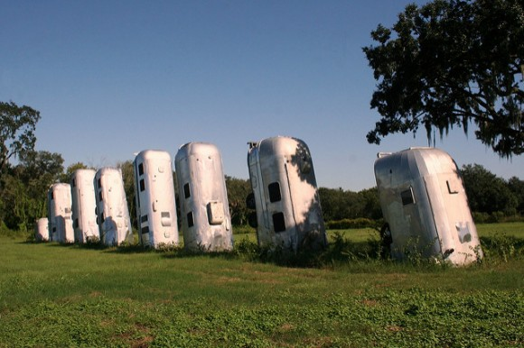 'Airstream Ranch' — don't blink, it's not up for long