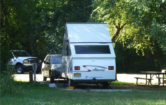 Small trailers great for light RV camping