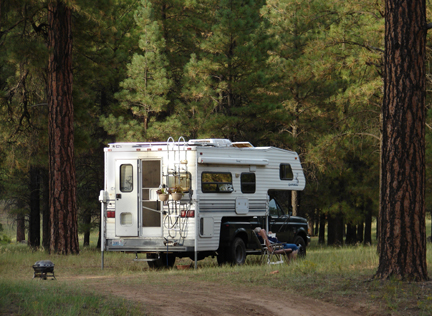Near Grand Canyon and free RV camping