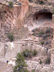 Bandelier National Monument, amazing Alcove House