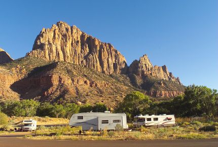 Zion's South Campground closes, Watchman stays open year round