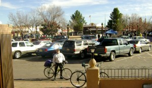 Touring Old Mesilla Plaza (Las Cruces, NM) by bicycle