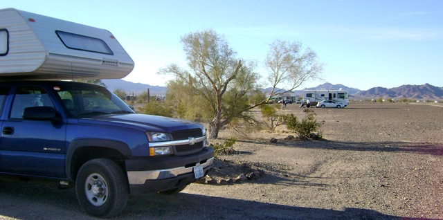 Finally made it to Quartzsite — RV snowbird heaven