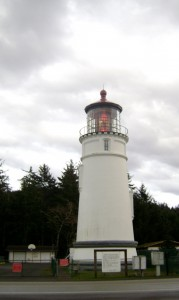 Umpqua Lighthouse State Park, safe harbor for campers in rolling storms