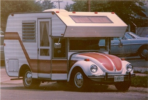 Sweet mini-motorhome conversion