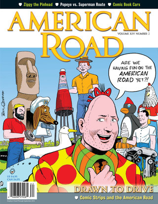 The nostalgic American Road Magazine