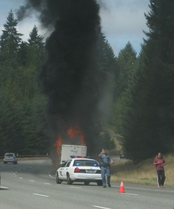 Fires closed I-90 at least twice last week