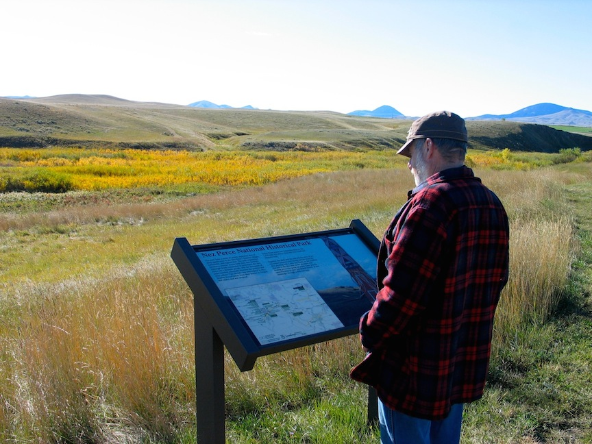 "Nez Perce Bear Paw Battlefield … ""I will fight no more forever"" — Chief Joseph"