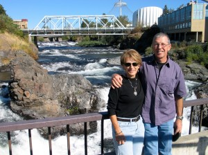 RV friends Thom and Dar Hoch visit Spokane