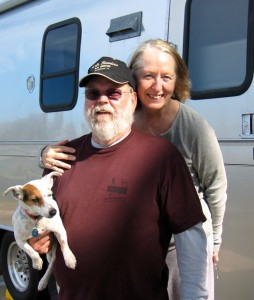 Patty and Charlie Betts of Tallahassee -- three decades of camping, loving outdoors