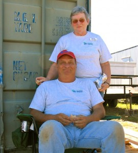 Fulltime RVers Cheryl and Rich LeBrake volunteer as RV Care-a-Vanners