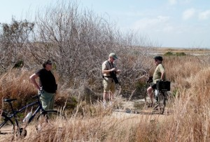 Biking, birding Port Aransas Nature Preserve