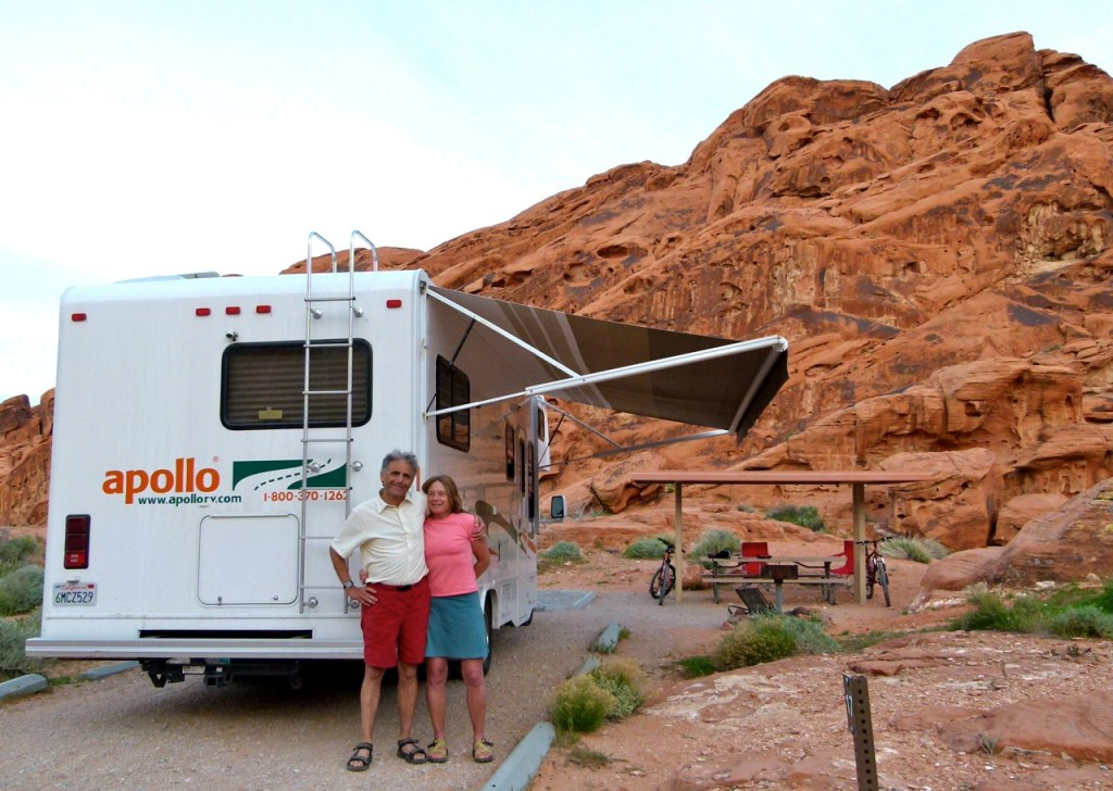 Alaskans fly to L.A., rent RV, tour southwest for six weeks, return RV to Las Vegas