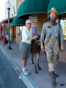 Wickenburg, Ariz. -- Gold Rush Days, outdoor art walk reflect Old West charm
