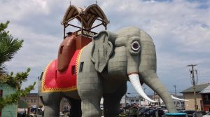 Lucy the Elephant, fun RV Short Stop on Jersey shore