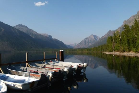 Glacier_McDonaldLake_boats_JulianneGCrane