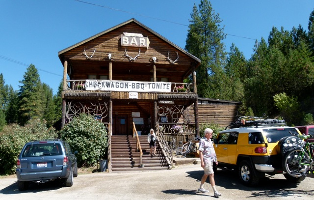 'SnakePit' eatery, great RV Short Stop when traveling along I-90 in north Idaho