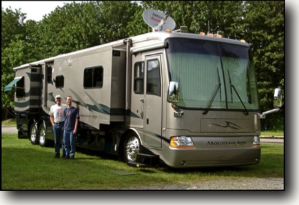 Preparing your RV for wintertime living
