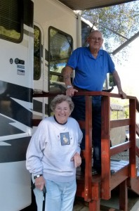 Ken & Jean Bixler veteran fulltime RVers still working as campground hosts