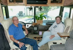 Ken and Jean Bixler veteran full-time RVers still enjoy working as campground hosts