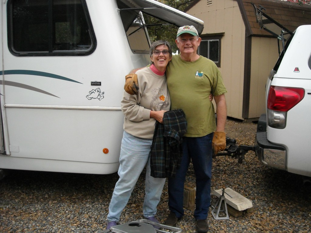 Cape Cod couple, Candi and Ted Franklin, love RVing the West boondocking