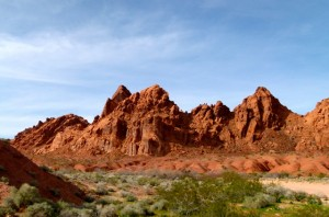 Favorite RV holiday memory of Bob and Lynn Difley--Valley of Fire State Park in Nevada