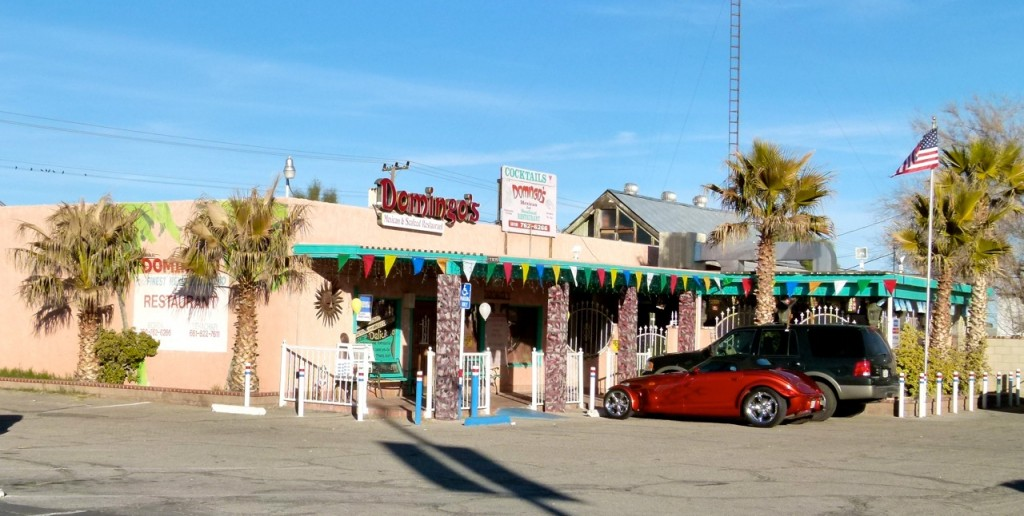 Make time to stop by tiny Boron, Calif., (off CA 58) to dine at Domingo's Mexican Restaurant