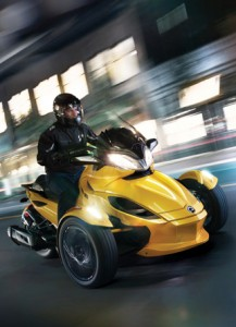 Can-Am Spyder RT, ST ... great RV toad