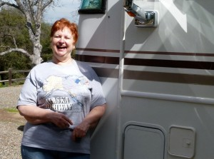 Solo RVer Nancy Bridges keeps on rolling