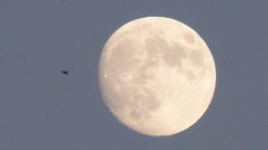 Full moon over Spokane