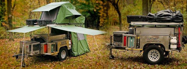 Campa USA ATT (all terrain trailer), Campa Cub