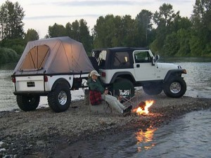 Tentrax Off Road A/T Trailer