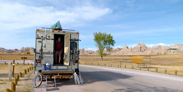 Public campgrounds along the way – Badlands National Park, Nebraska's Chadron State Park