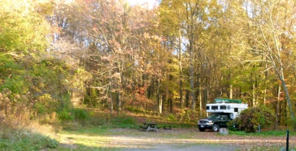 Pennsylvania's Ohiopyle State Park, a treasure of a place for camping, bicycling, autumn color