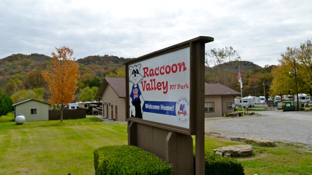 Escapees' Raccoon Valley RV Park near Knoxville, Tn