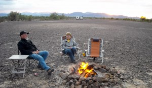 Full-time RVers Thom and Dar Hoch's 2011 Thanksgiving memory at Quartzsite