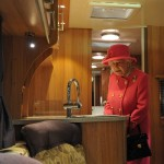 Queen Elizabeth II gives RV factory Royal treatment