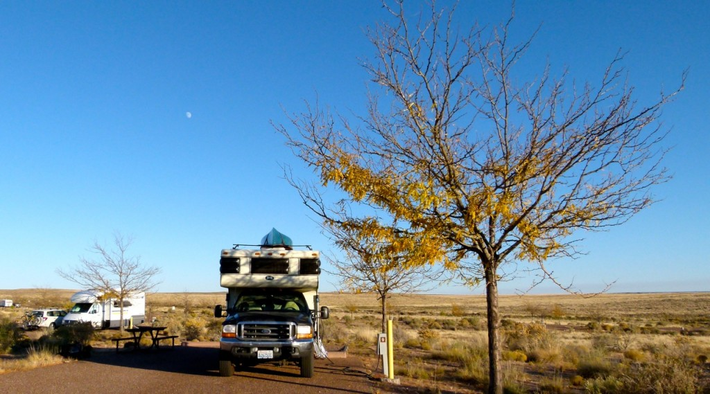 Homolovi Ruins State Park near Winslow, Ariz.