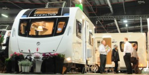 UK's 'Caravan & Motorhome Show 2013' runs Jan. 17-20, in Manchester, England