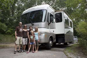 Family of 5's real costs of RVing for a year