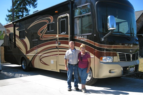 High school chum shares love of RV lifestyle