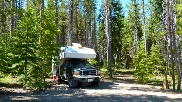 Burgdorf Hot Springs and forest service campgrounds - RV