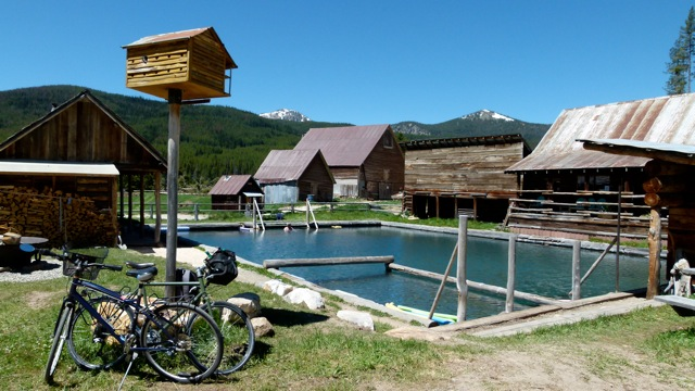 Burgdorf Hot Springs and forest service campgrounds