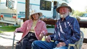 'Elegant RVers' Margaret McNevin and Dave Danielsen