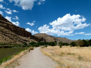 Colorado River State Park - hot, hot, hot