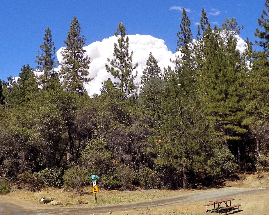 Report from RVers near Yosemite Rim Fire